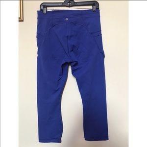Lululemon crop pants size 10